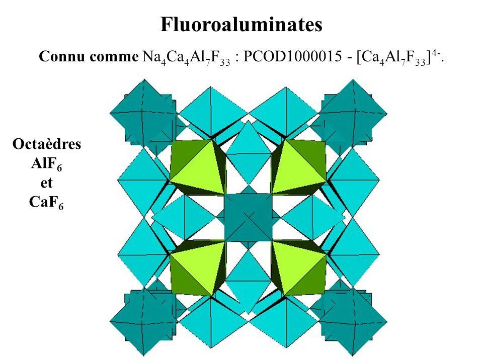 Connu comme Na4Ca4Al7F33 : PCOD1000015 - [Ca4Al7F33]4-.